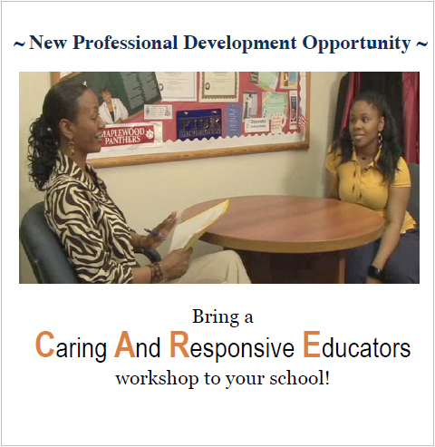 New Professional Development Opportunity - Bring a Caring and Responsive Educators workshop to your school!